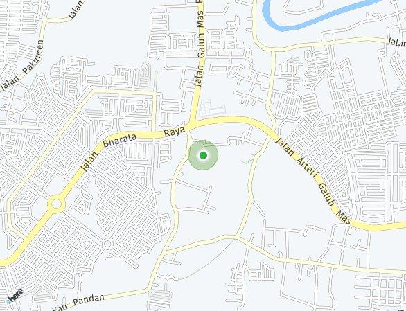Peta lokasi Grahayana