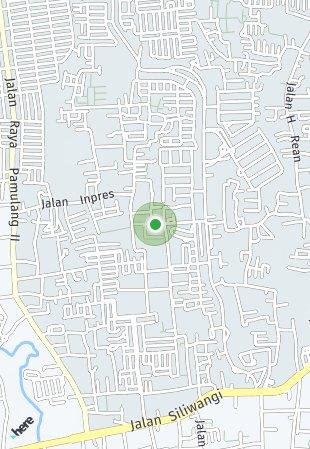 Peta lokasi Vila Dago Pamulang