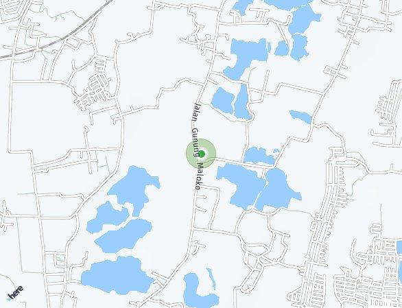 Peta lokasi Go-Home Residence