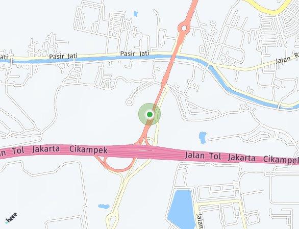 Peta lokasi Rolling Hills
