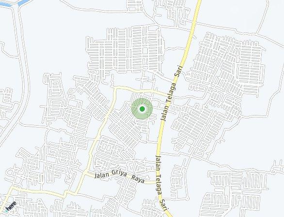 Peta lokasi Chakra Residence