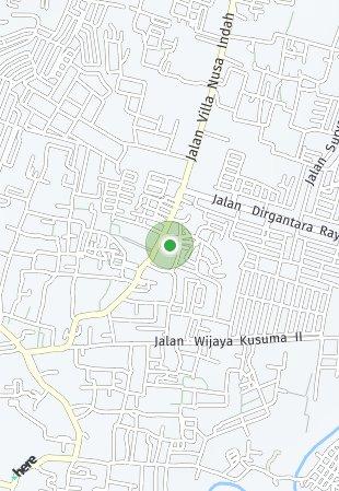 Peta lokasi Emerald Terrace at Jatiasih