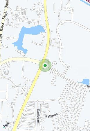 Peta lokasi SAVASA at Kota Deltamas