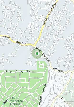 Peta lokasi Roemah Palem