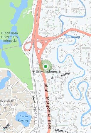 Peta lokasi Evenciio Apartment
