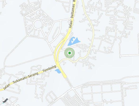 Peta lokasi Graha Mirai