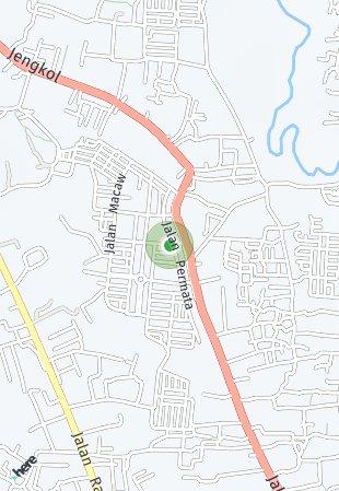Peta lokasi Padma Serpong