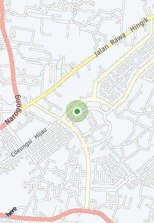 Peta lokasi Metland Transyogi