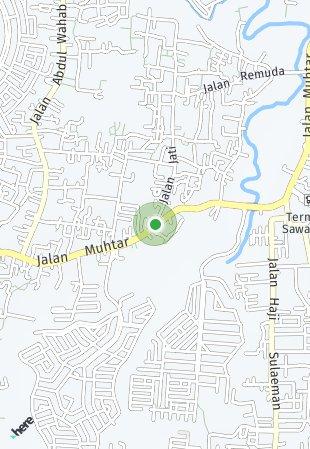 Peta lokasi Prestige Sawangan