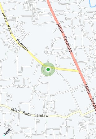 Peta lokasi Blossom Park