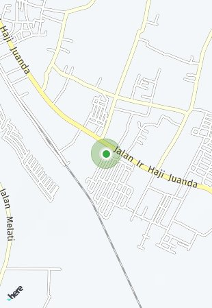 Peta lokasi Graha Samala Cikampek
