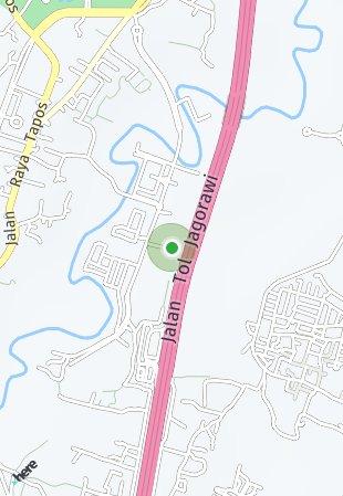 Peta lokasi Podomoro River View