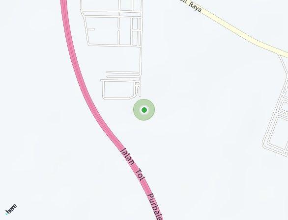 Peta lokasi Suka Ati Residence
