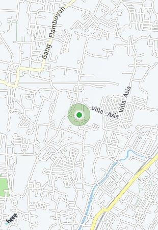 Peta lokasi Fortuna Residence