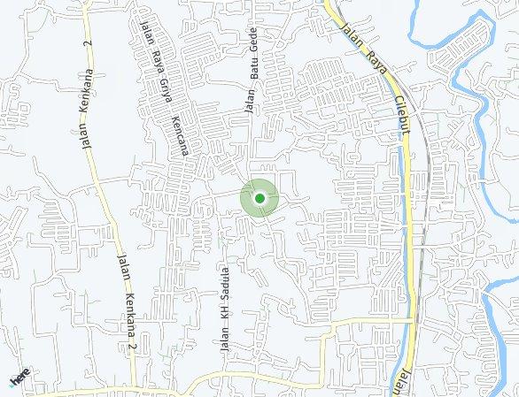 Peta lokasi Emerald Cilebut