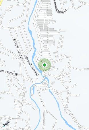 Peta lokasi Citra Sentul Raya