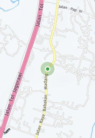 Peta lokasi Royal Sentul Park - LRT City