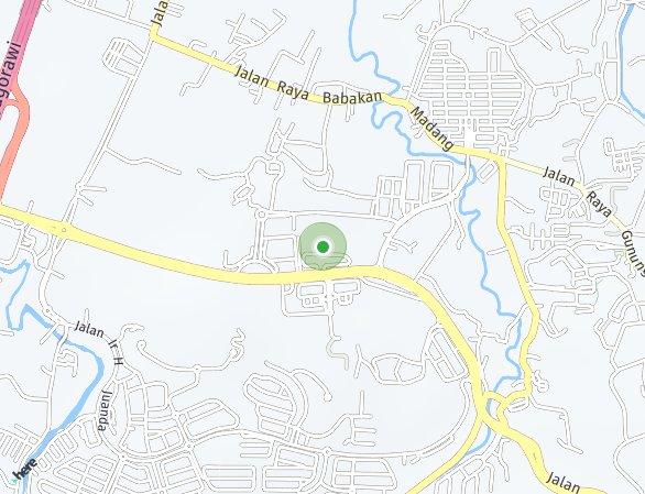 Peta lokasi Apartemen Saffron Noble