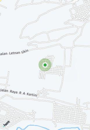 Peta lokasi Mahkota Graha Subang