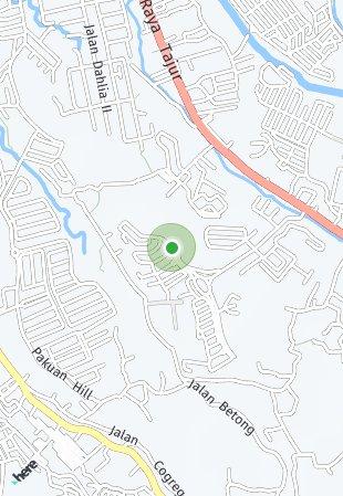 Peta lokasi Royal Heights Apartment