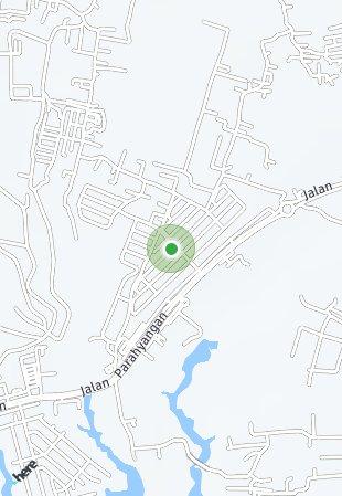 Peta lokasi Kota Baru Parahyangan
