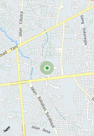 Peta lokasi Tamansari Kencana