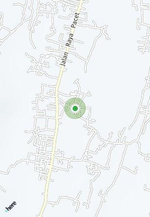Peta lokasi Tatar Pakutandang