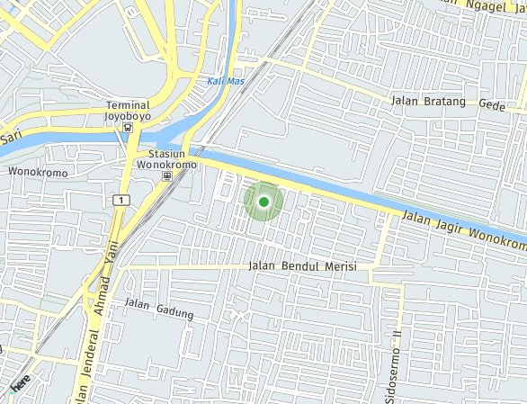 Peta lokasi Klaska Residence