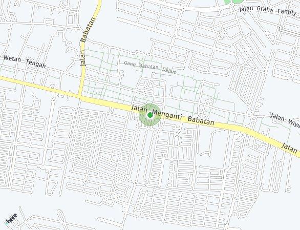 Peta lokasi Royal Residence