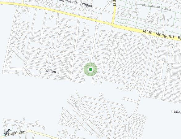 Peta lokasi Paddington at Wisata Bukit Mas