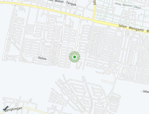 Peta lokasi Wisata Bukit Mas