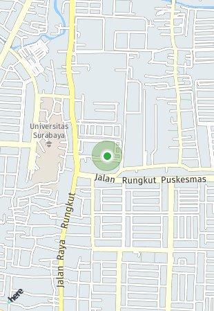 Peta lokasi Springville Residence Surabaya