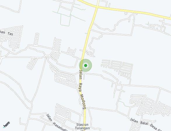 Peta lokasi Spring Residence Sidoarjo