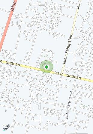 Peta lokasi Puri Nanggulan Sejahtera