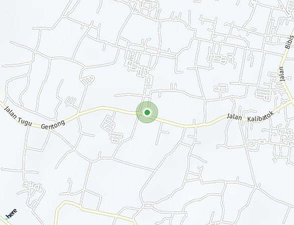 Peta lokasi Grand Orchid Residence