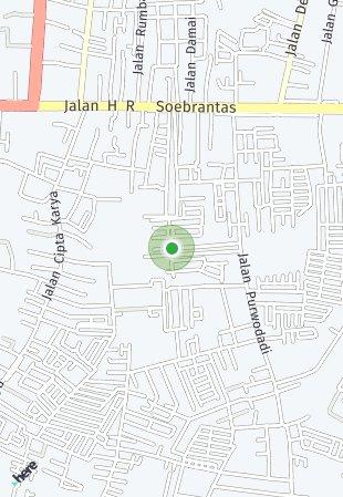 Peta lokasi CitraGarden Pekanbaru