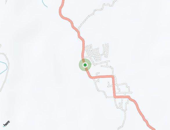 Peta lokasi Koka Hilltop