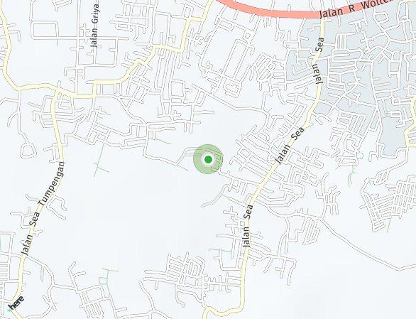 Peta lokasi Rajawali Residence
