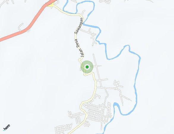 Peta lokasi Sawangan Permai