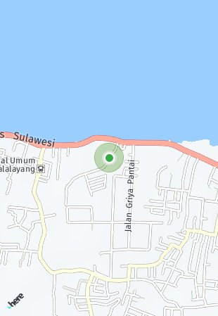 Peta lokasi Paramount Hills Manado