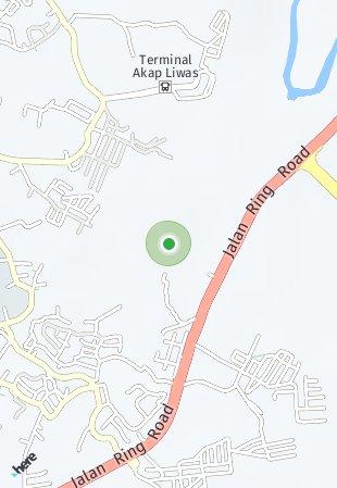Peta lokasi The City Manado