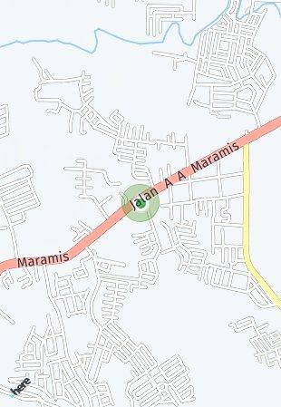 Peta lokasi Holland Village Manado