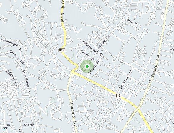 Peta lokasi Azalea Place