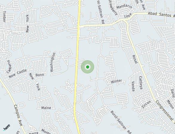 Peta lokasi Amaris Homes