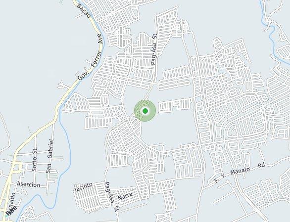 Peta lokasi Kensington Village