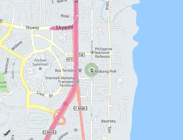 Peta lokasi Avida Towers Altura