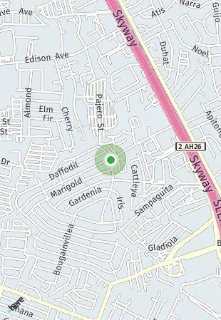 Peta lokasi Kasa Berde Townhouse