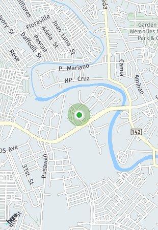 Peta lokasi Panglao Oasis