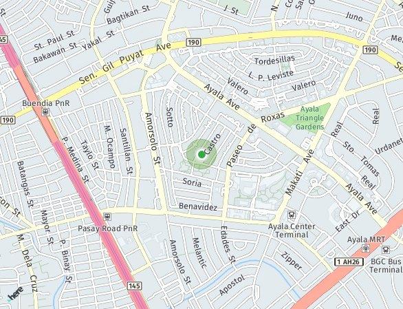 Peta lokasi Greenbelt Hamilton