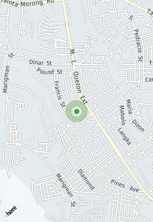 Peta lokasi Summerfield San Roque Hills